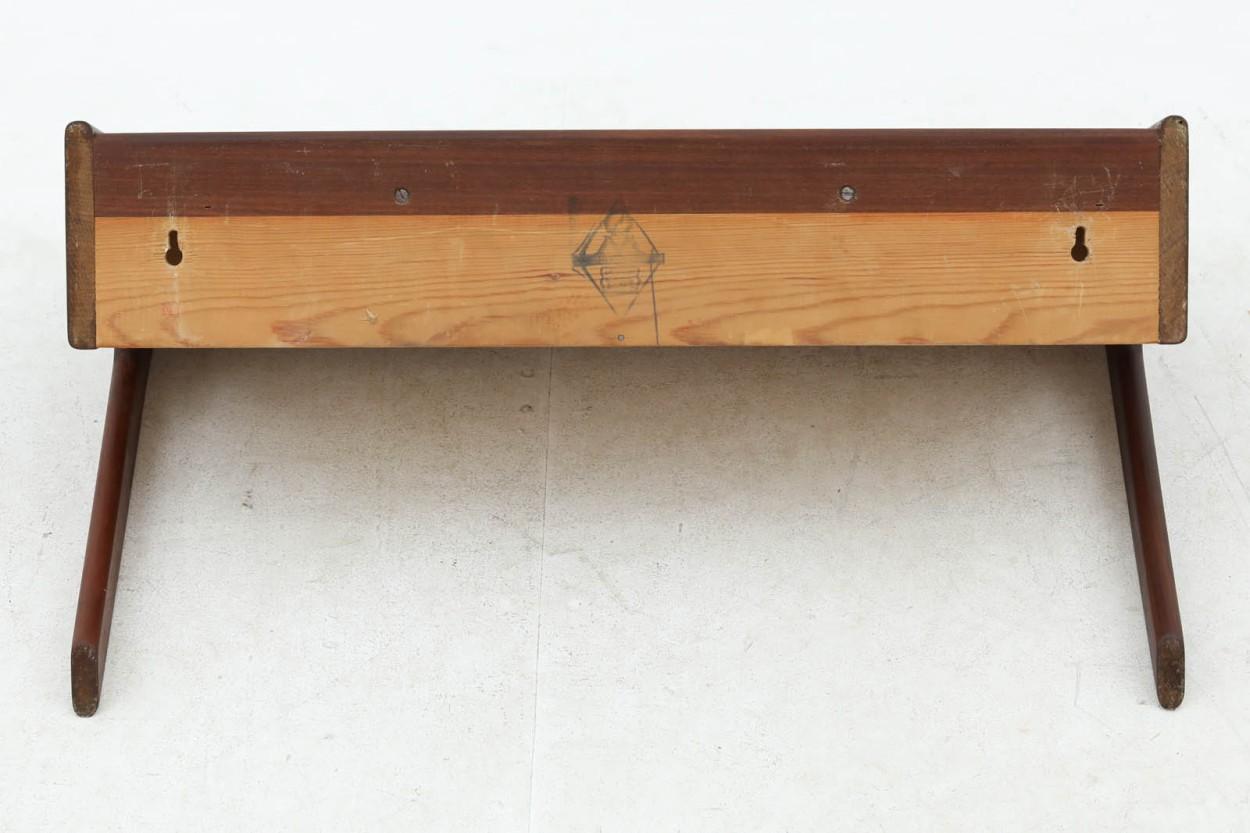 デンマーク製 壁掛けシェルフ 北欧家具ビンテージ/DK9777
