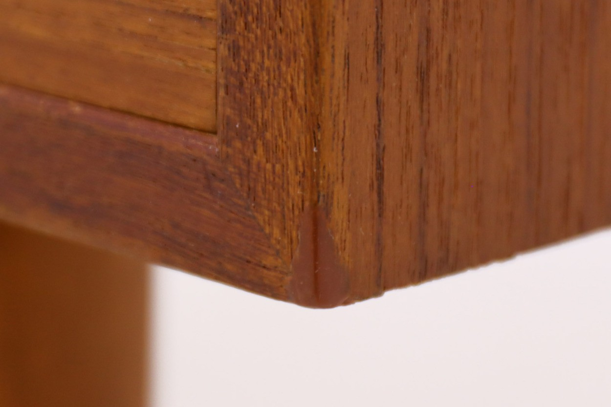 Kai Kristiansen(カイ・クリスチャンセン) チェスト チーク材 デンマーク製 北欧家具ビンテージ/DK10903