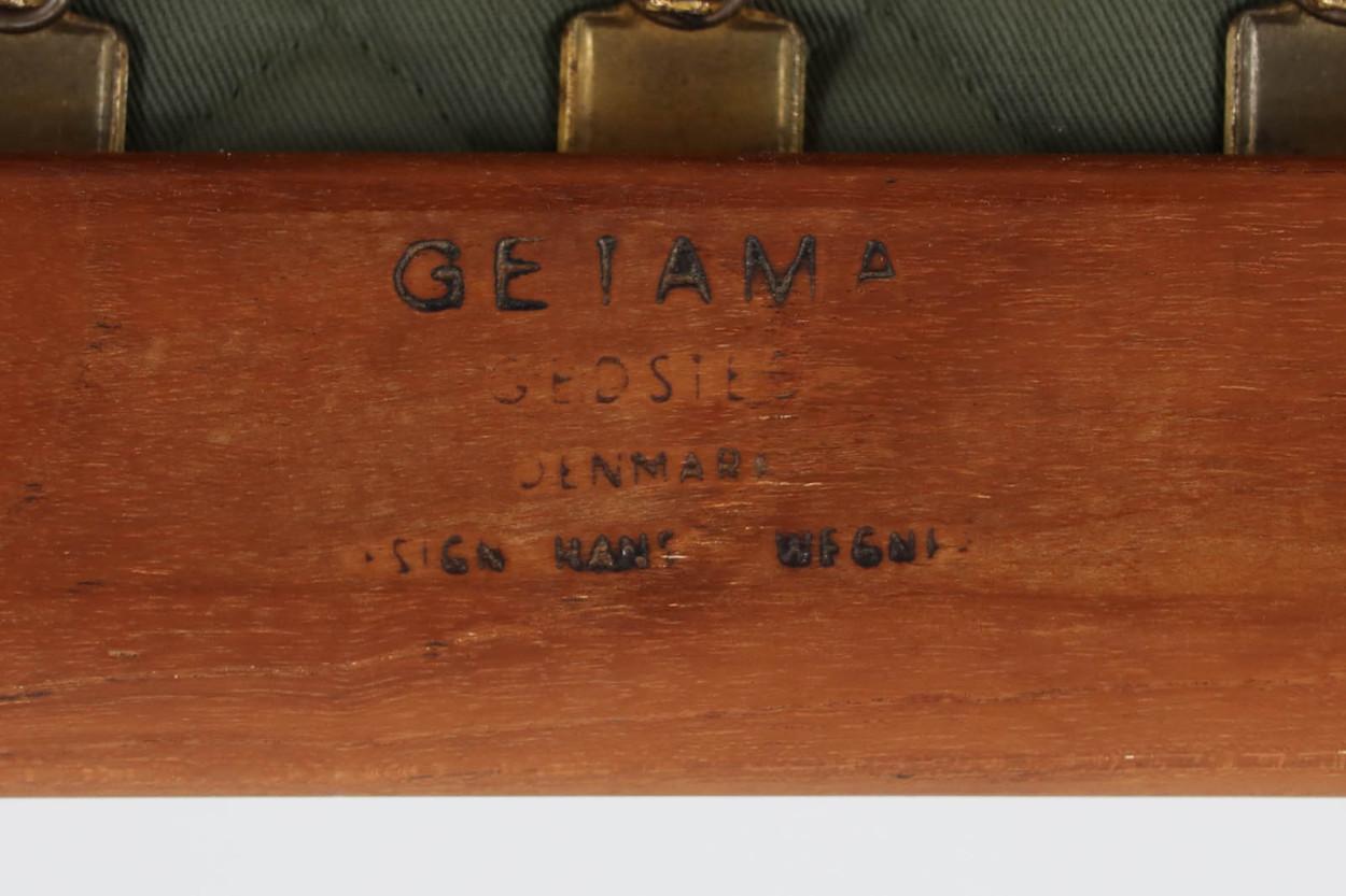 【ダメージ有り】北欧家具ビンテージ GE290 シングルソファ チーク材 Hans J.Wegner(ハンス・J・ウェグナー) GETAMA/ゲタマ/DK9604