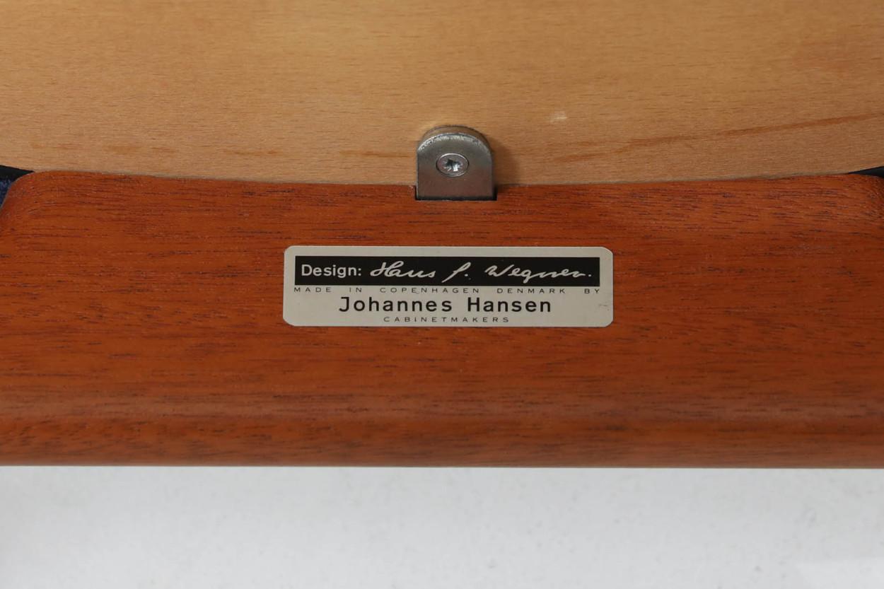 Hans J.Wegner(ハンス・J・ウェグナー) アームチェア JH250 マホガニー材 Johannes Hansen(ヨハネス・ハンセン) /DK11081