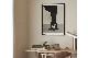 CHLOROS 天然木製のポスターフレーム/額縁 ブラック 50×70cm