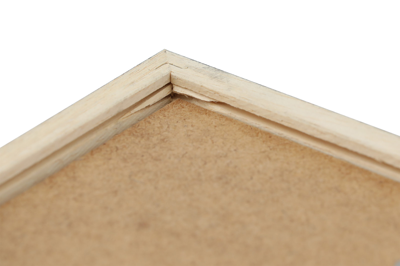 CHLOROS 天然木製のポスターフレーム/額縁 ブラック 30×40cm