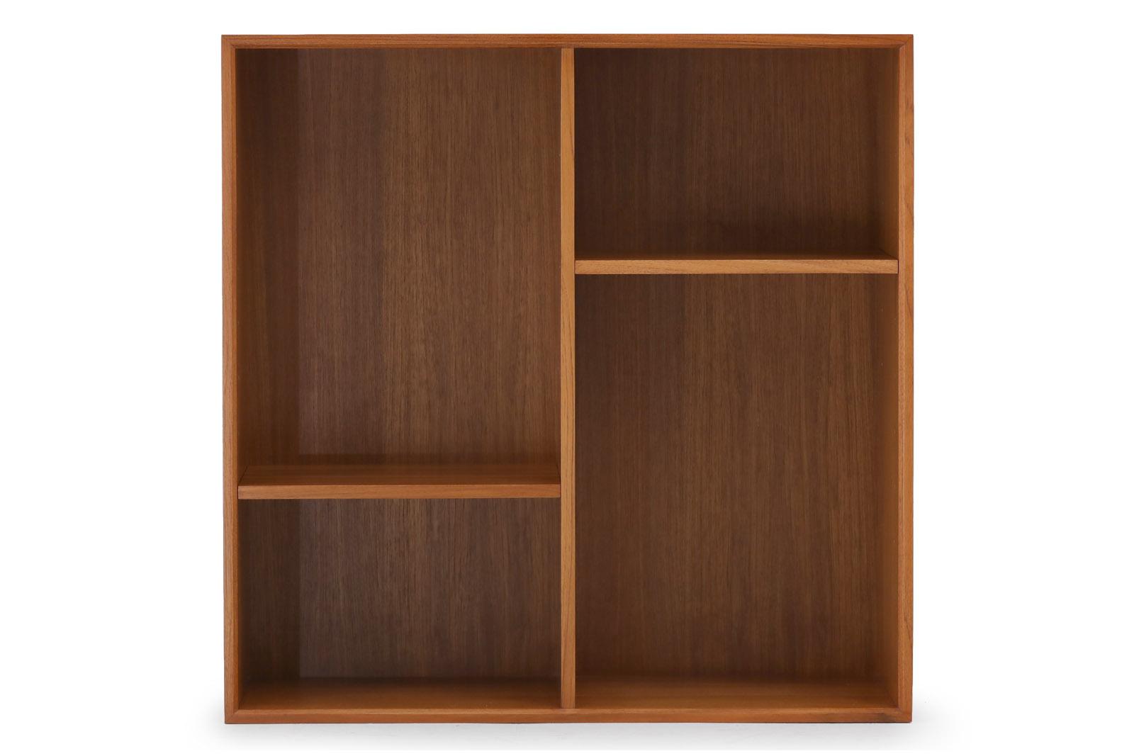 チーク無垢材 スモールブックシェルフ 2x2 専用追加棚板