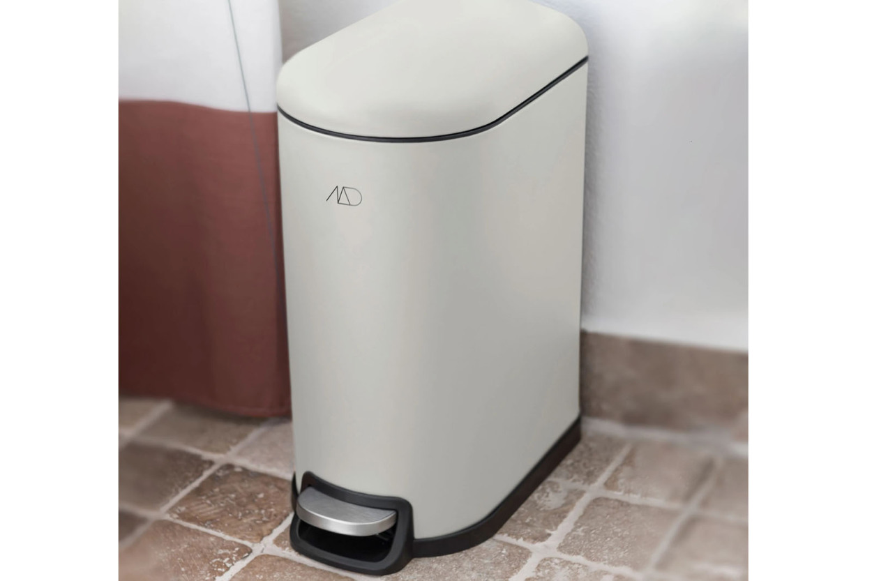 Mette Ditmer 北欧デンマークデザイン ペダルビン/ゴミ箱 10L WALTHER ホワイト