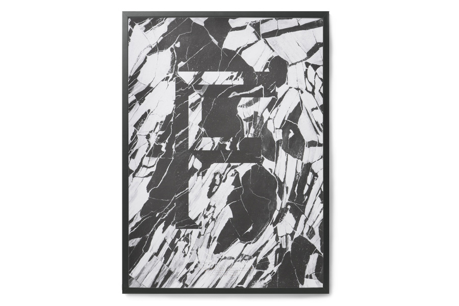 PLAYTYPE アルファベット ポスター/アートプリント 50×70cm FAUX-F