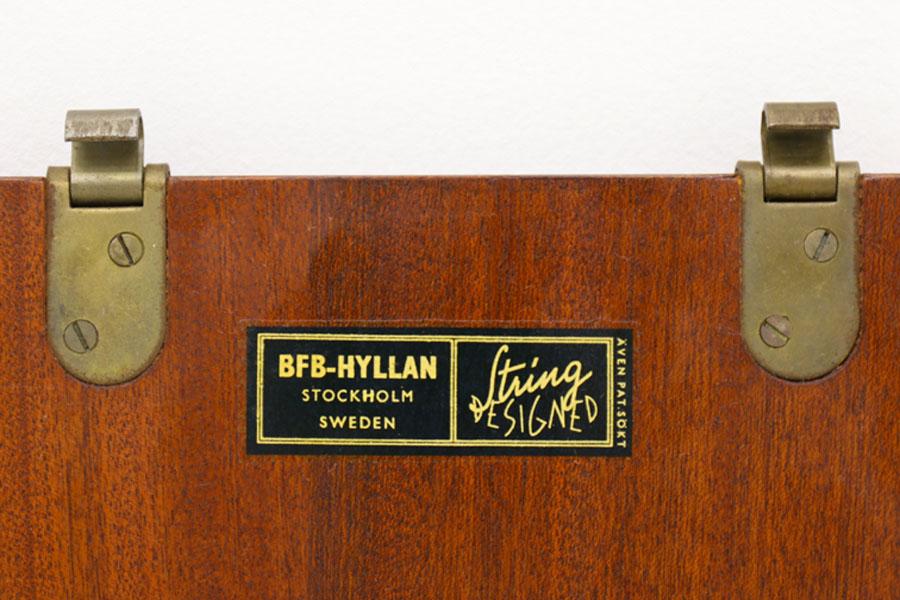 Nils Strinning(ニルス・ストリング) ストリングシェルフ 北欧家具ビンテージ/DK9053