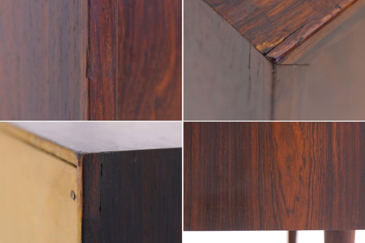 Kai Kristiansen(カイ・クリスチャンセン) 小ぶりなローボード ローズウッド材 北欧家具ビンテージ/DK9720