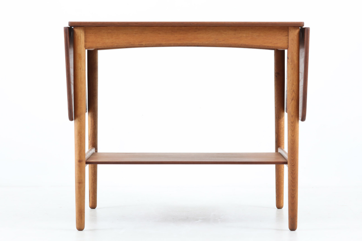Hans J.Wegner(ハンス・J・ウェグナー) AT32 テーブル チーク×オーク材 北欧家具ビンテージ/DK12380