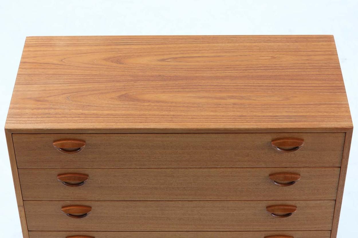 Kai Kristiansen(カイ・クリスチャンセン) チェスト4段 チーク材 デンマーク製 北欧家具ビンテージ/DK11546