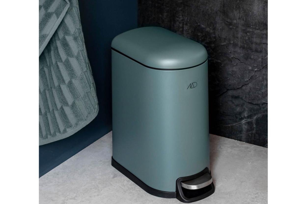 Mette Ditmer 北欧デンマークデザイン ペダルビン/ゴミ箱 10L WALTHER パイングリーン