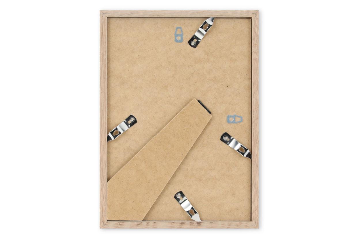 CHLOROS 天然木製のポスターフレーム/フォトフレーム/写真立て ブラック A4