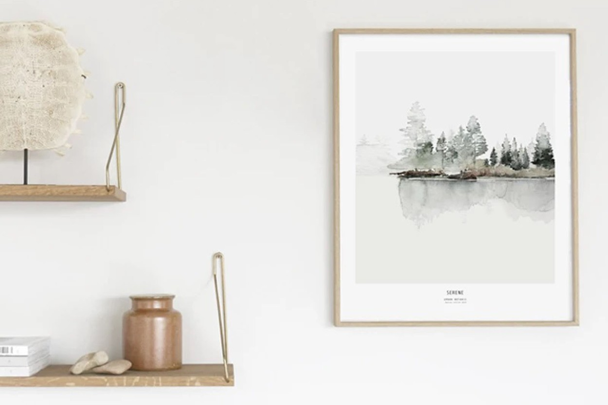 MY DEER ART SHOP ポスター/アートプリント 30×40cm Botanics / Serene (Limited edition #250)
