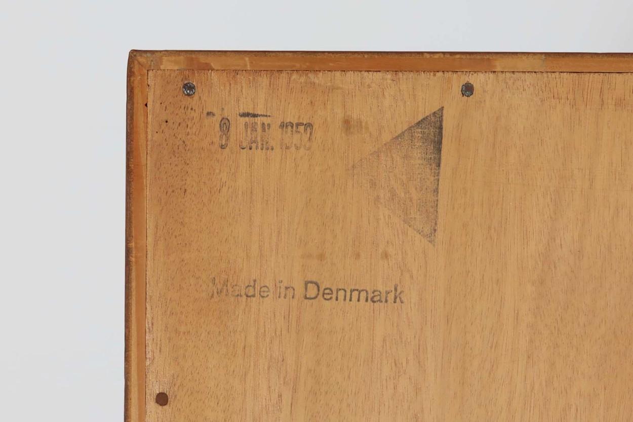 Hans J.Wegner(ハンス・J・ウェグナー) ブックシェルフ/本棚 チーク×オーク材 RY Mobler 北欧ビンテージ家具/DK11648