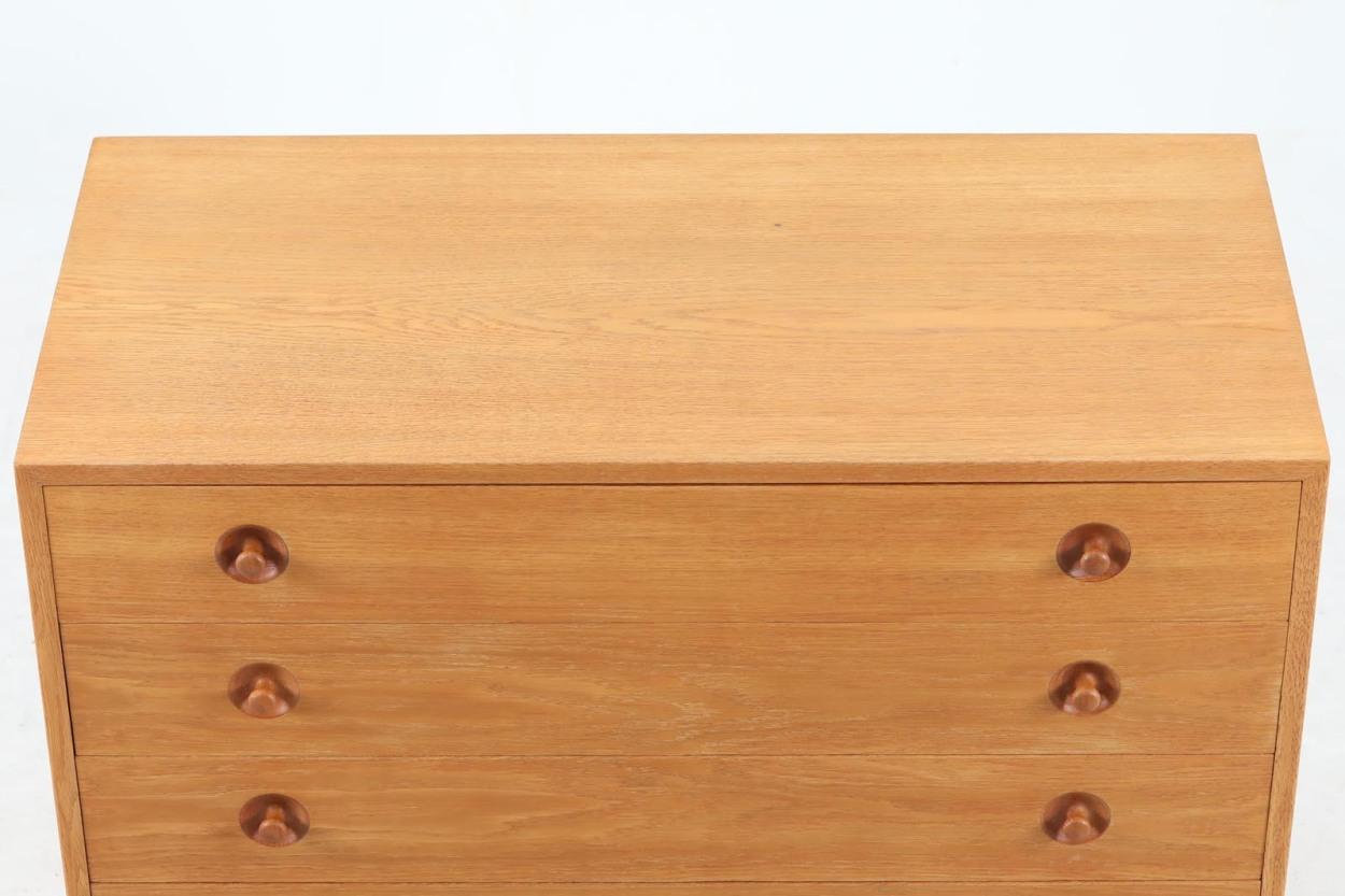 Hans J.Wegner(ハンス・J・ウェグナー)×Illums Bolighus(イルムス・ボリフス) RYチェスト オーク材 北欧家具ビンテージ/DK12421