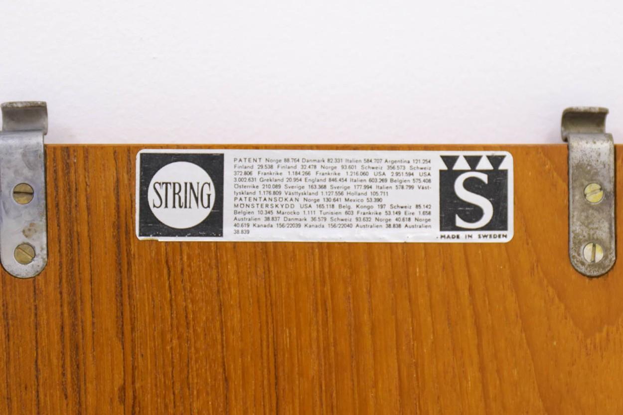 Nils Strinning(ニルス・ストリング) ストリングシェルフ 北欧家具ビンテージ/DK9598