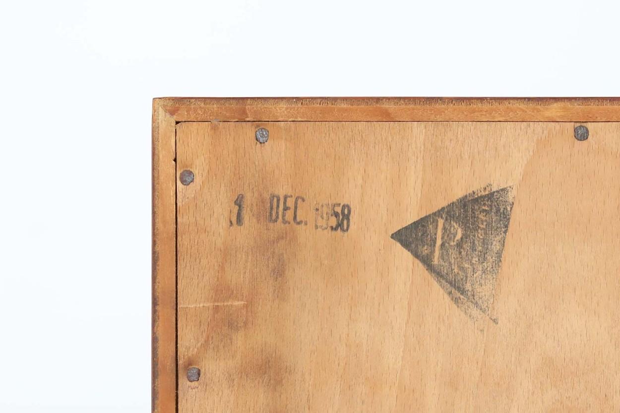 Hans J.Wegner(ハンス・J・ウェグナー) RYチェスト チーク×オーク材 北欧家具ビンテージ/DK12485