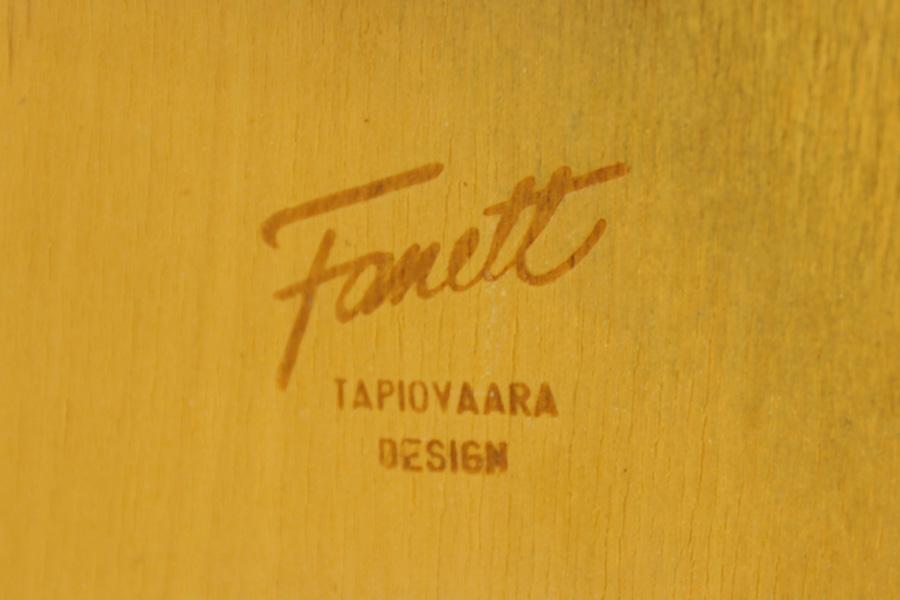Ilmari Tapiovaara(イルマリ・タピオヴァーラ) Fanett(ファネットチェア) 北欧家具ビンテージ/DK9059