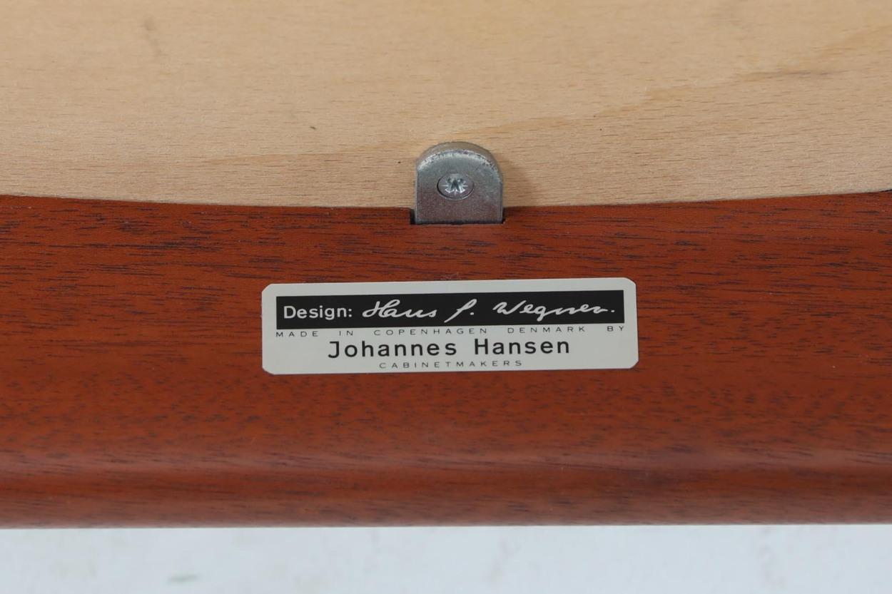 Hans J.Wegner(ハンス・J・ウェグナー) アームチェア JH250 マホガニー材 Johannes Hansen(ヨハネス・ハンセン) /DK11080