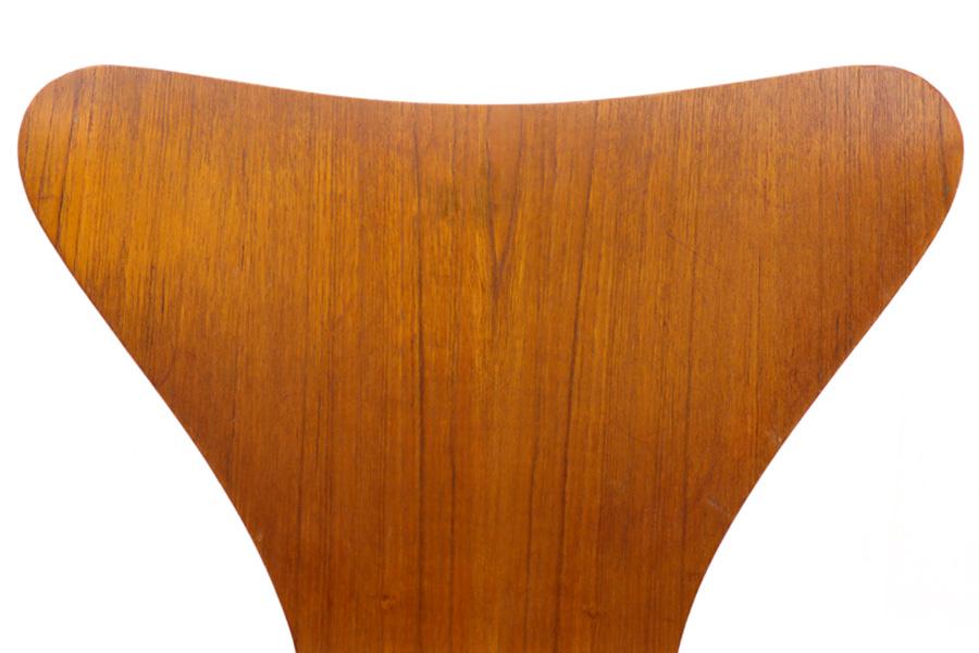 北欧家具ビンテージ Fritz Hansen(フリッツ・ハンセン) セブンチェア チーク材 Arne Jacobsen(アルネ・ヤコブセン) デンマーク製/DK9037