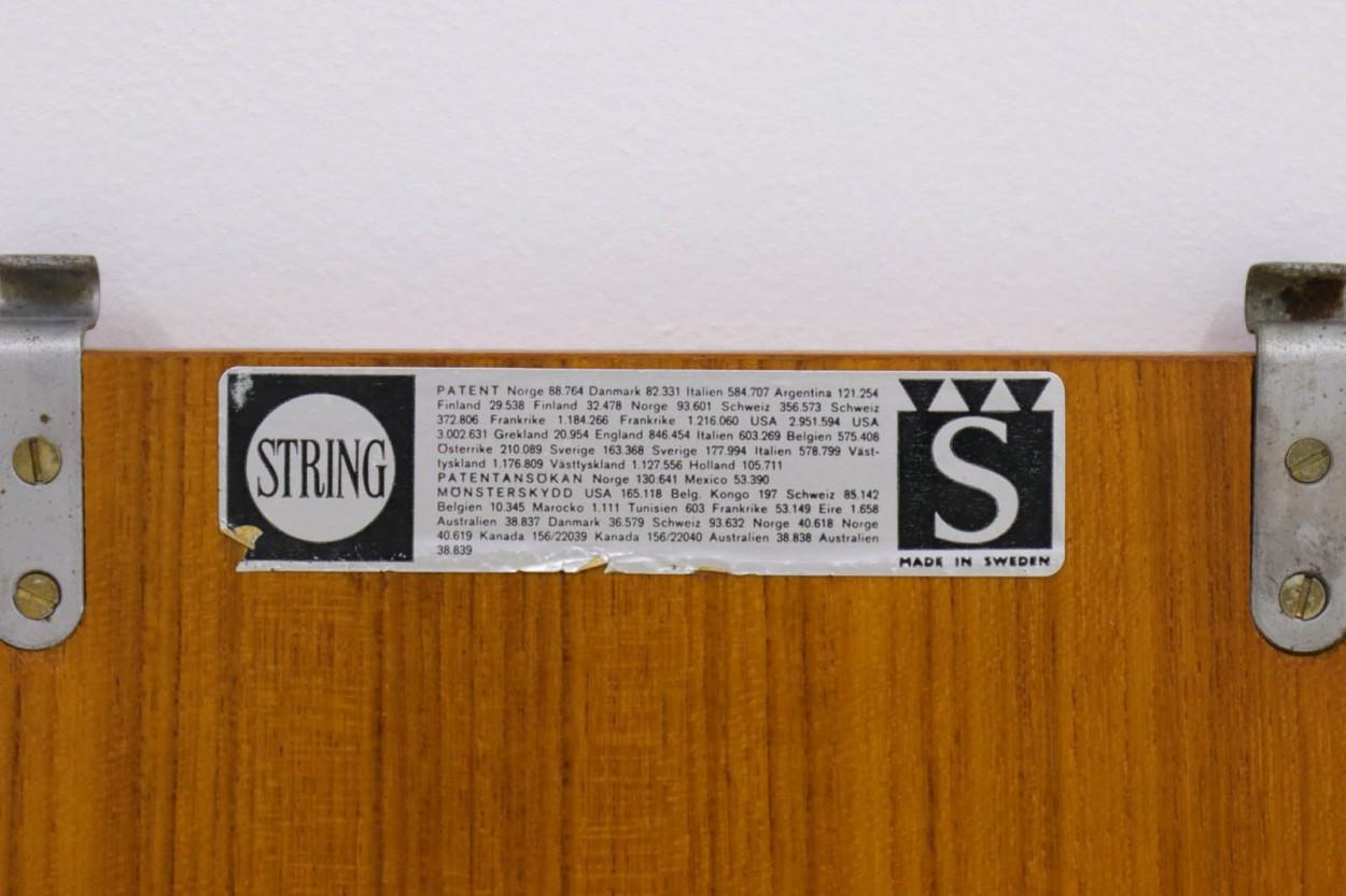 Nils Strinning(ニルス・ストリング) ストリングシェルフ 北欧家具ビンテージ/DK9823