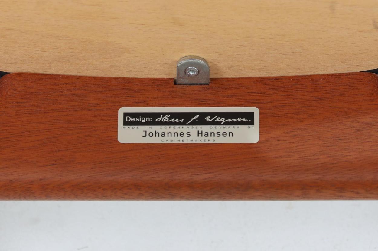 Hans J.Wegner(ハンス・J・ウェグナー) アームチェア JH250 マホガニー材 Johannes Hansen(ヨハネス・ハンセン) /DK11082