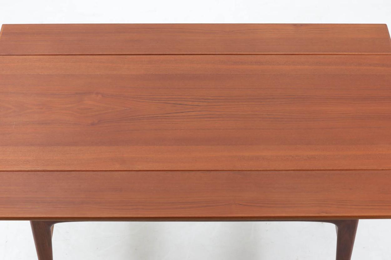 デンマーク製 エレベーターテーブル/センターテーブル 幅135cm 北欧家具ビンテージ/DK11838