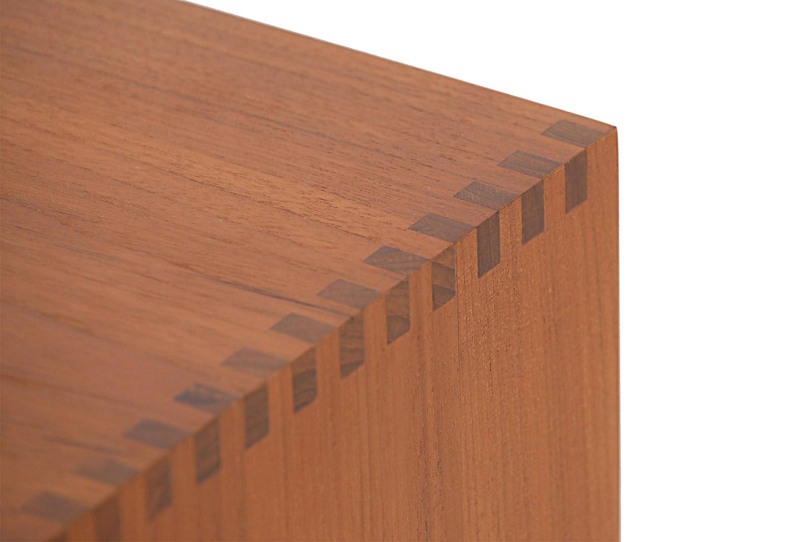 チーク無垢材 スモールブックシェルフ 3x3