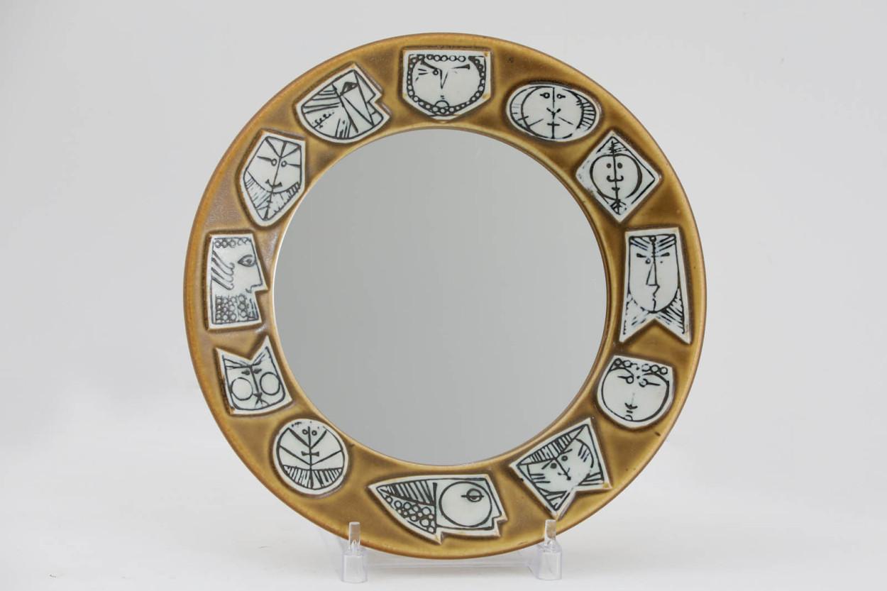 希少 Lisa Larson リサ ラーソン THALIA Spegel ウォールミラー/壁掛け鏡/TA10892