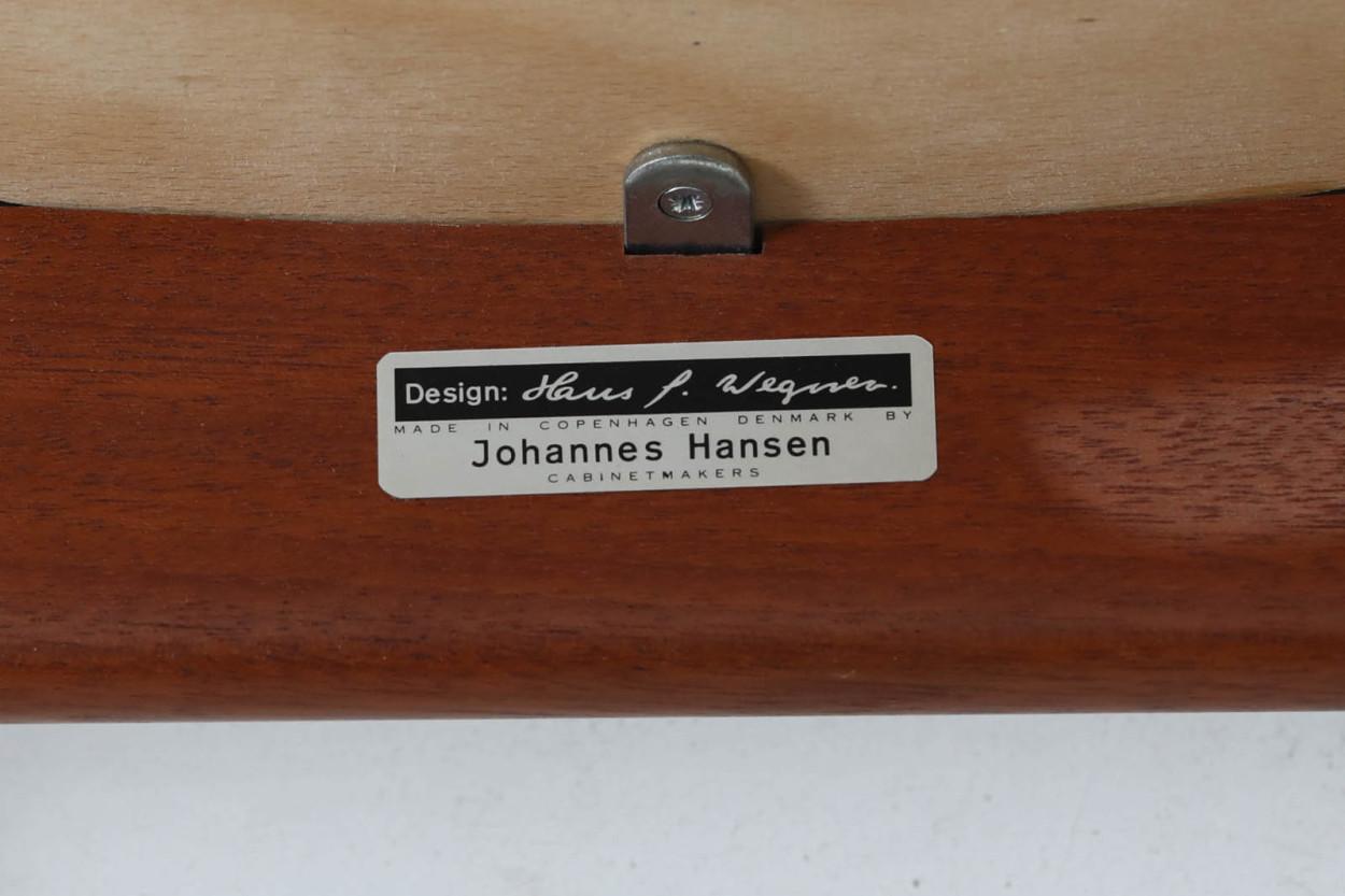 Hans J.Wegner(ハンス・J・ウェグナー) アームチェア JH250 マホガニー材 Johannes Hansen(ヨハネス・ハンセン) /DK11084