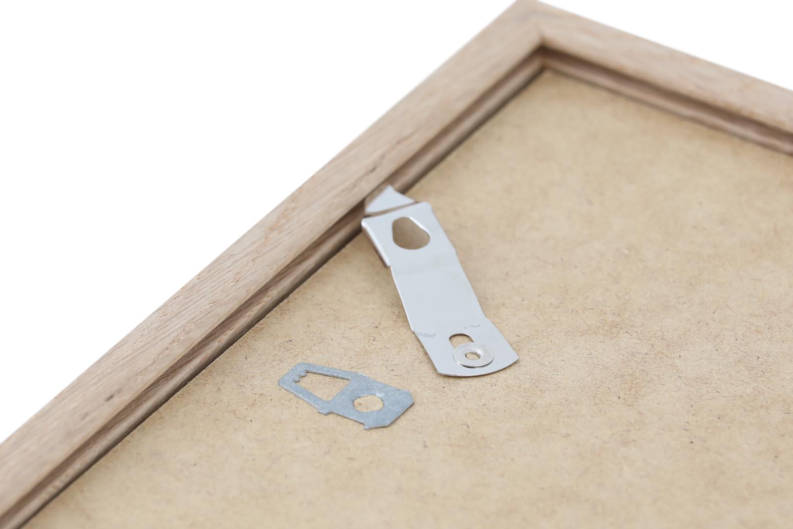 CHLOROS デンマーク製 オーク無垢材 ナチュラルなポスターフレーム/フォトフレーム/写真立て A5