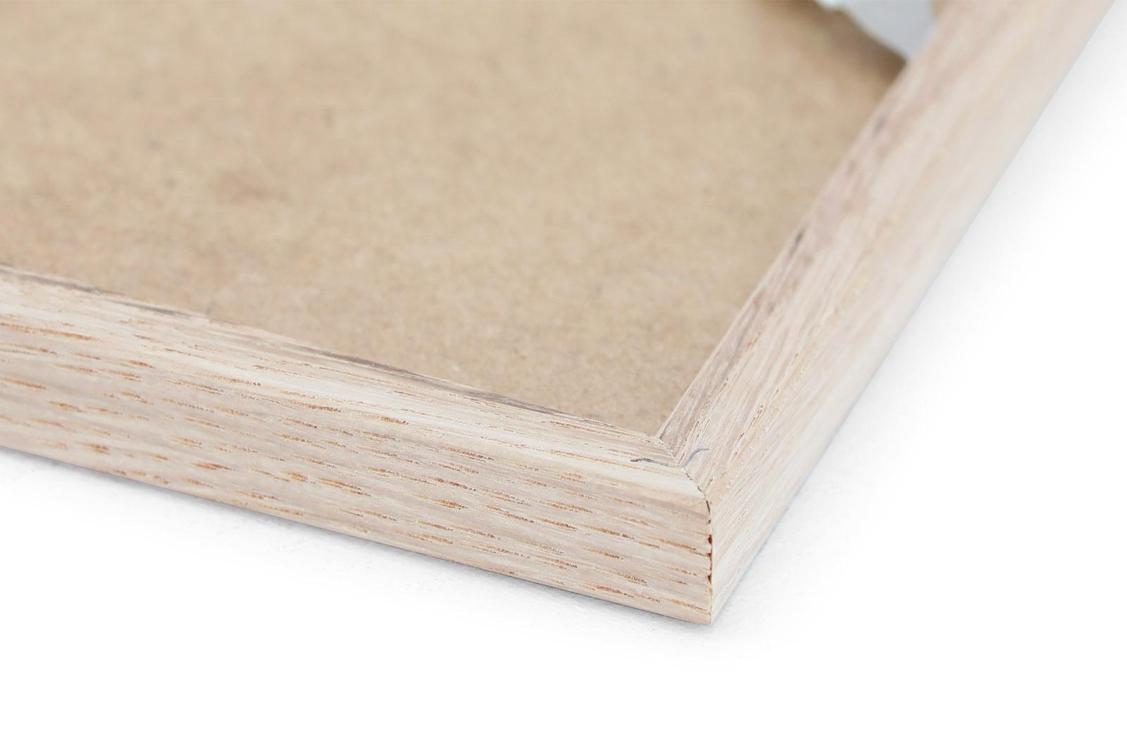 CHLOROS オーク無垢材 ナチュラルなポスターフレーム/フォトフレーム/写真立て A5