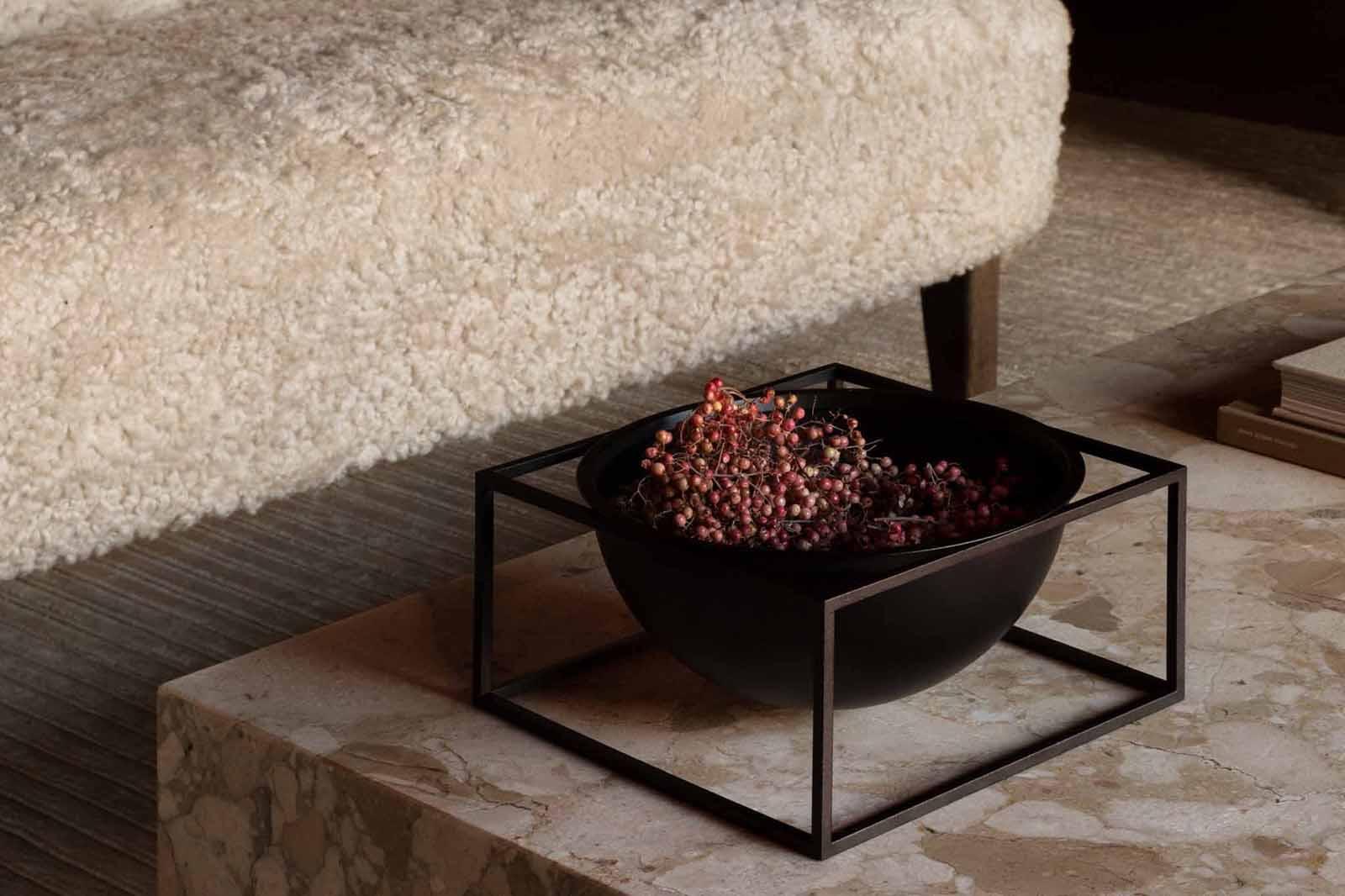 by Lassen(バイラッセン) Kubus Bowlボウル Centerpiece Small モノクロカラー