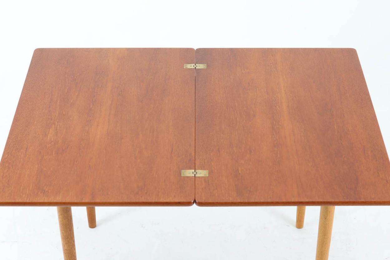 Hans J.Wegner(ハンス・J・ウェグナー) AT306 拡張式テーブル チーク×オーク材 北欧家具ビンテージ/DK11588
