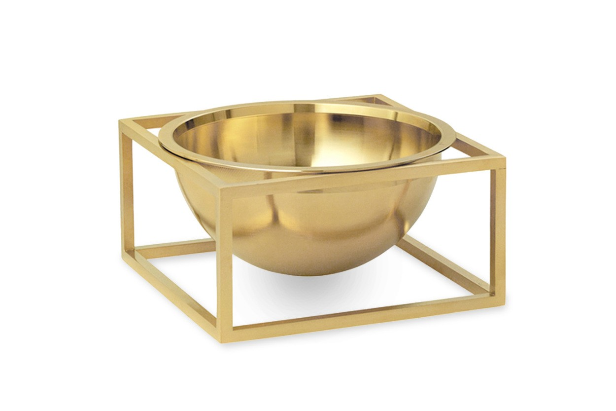 by Lassen(バイラッセン) Kubus Bowlボウル Centerpiece Small ブラス
