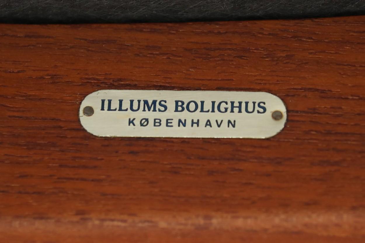 Erik Buch(エリック・バック)×Illums Bolighus(イルムス・ボリフス) チェア Model49 チーク材 デンマーク製 北欧家具ビンテージ/DK7043