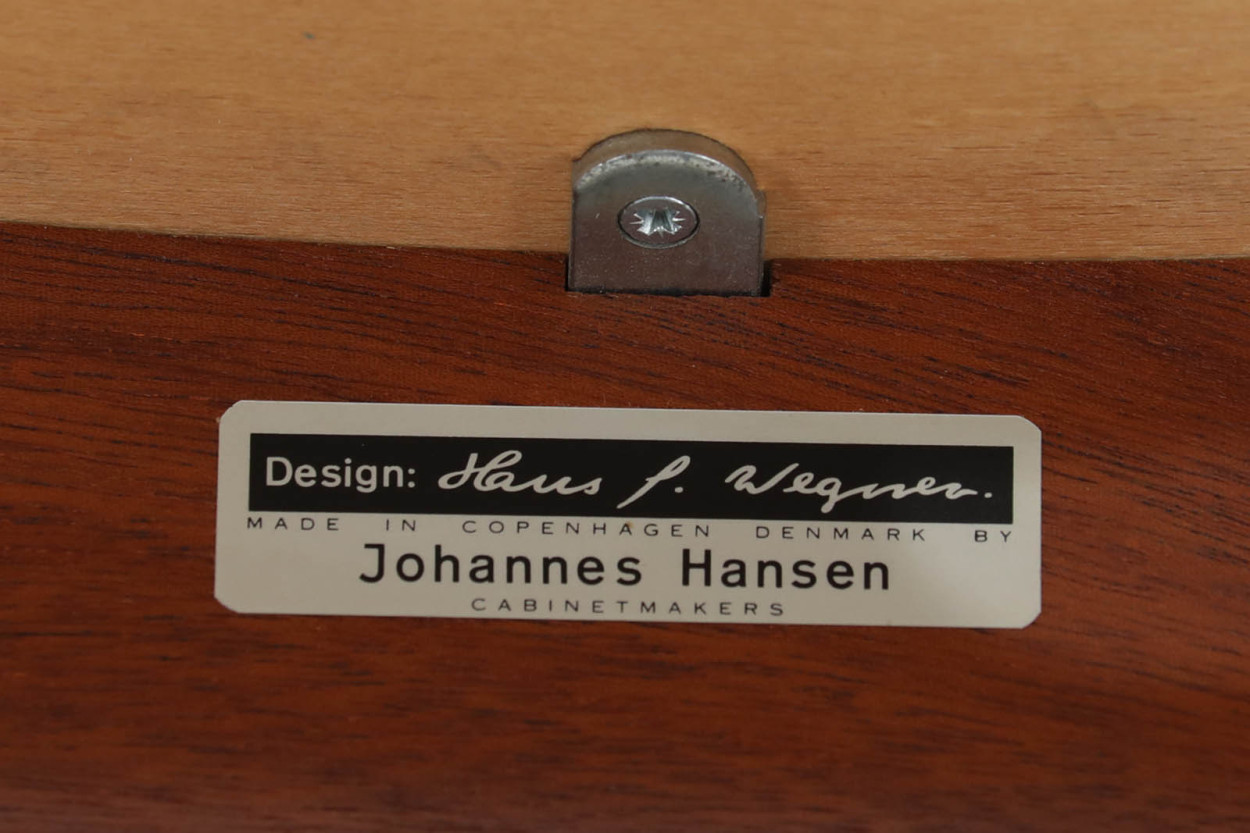 Hans J.Wegner(ハンス・J・ウェグナー) アームチェア JH250 マホガニー材 Johannes Hansen(ヨハネス・ハンセン) /DK11078