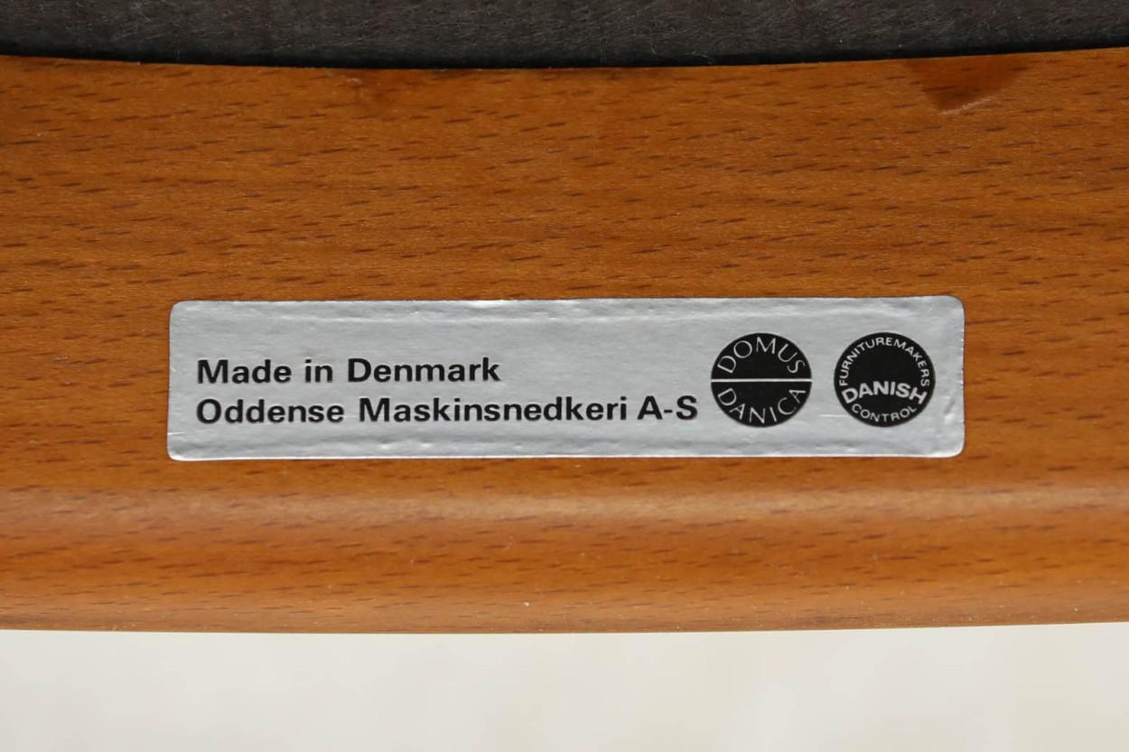 Erik Buch(エリック・バック) アームチェア チーク材 Model49 デンマーク製 北欧家具ビンテージ/DK7674