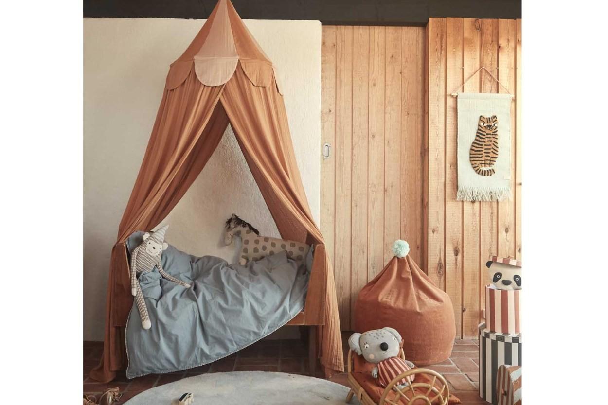 OYOY Living Design ウールコットンのウォールラグ/タペストリー Tiger