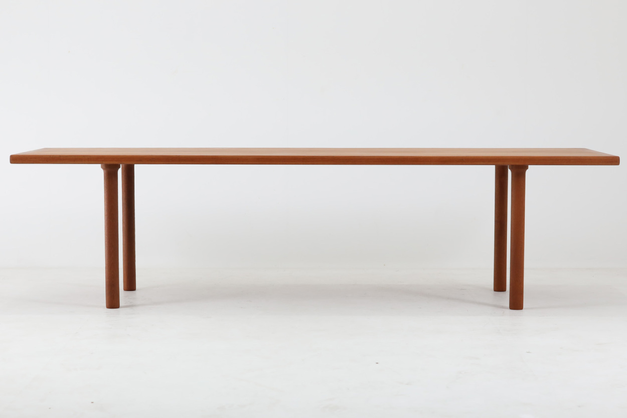 Hans J.Wegner(ハンス・J・ウェグナー) センターテーブル AT12 186cm チーク材 北欧家具ビンテージ デンマーク製/DK11560