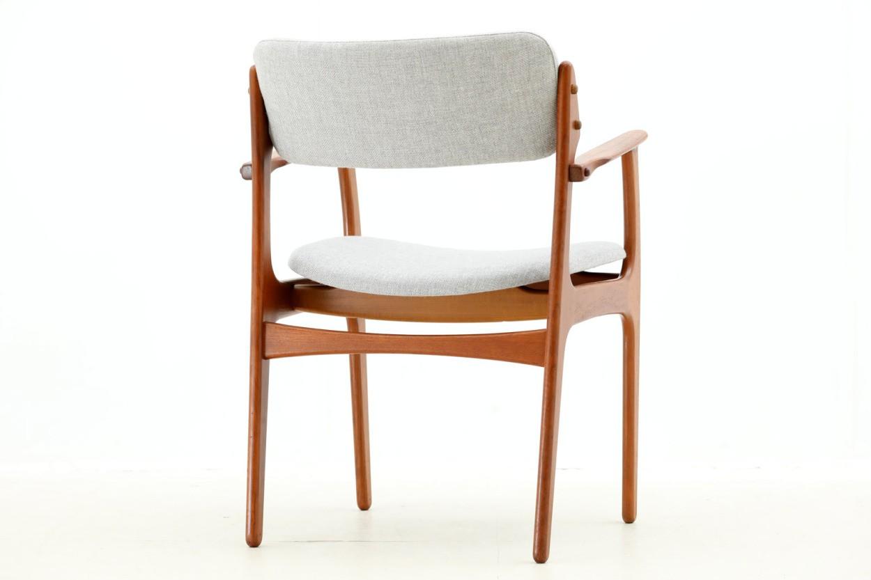 Erik Buch(エリック・バック) アームチェア チーク材 Model49 デンマーク製 北欧家具ビンテージ/DK7675