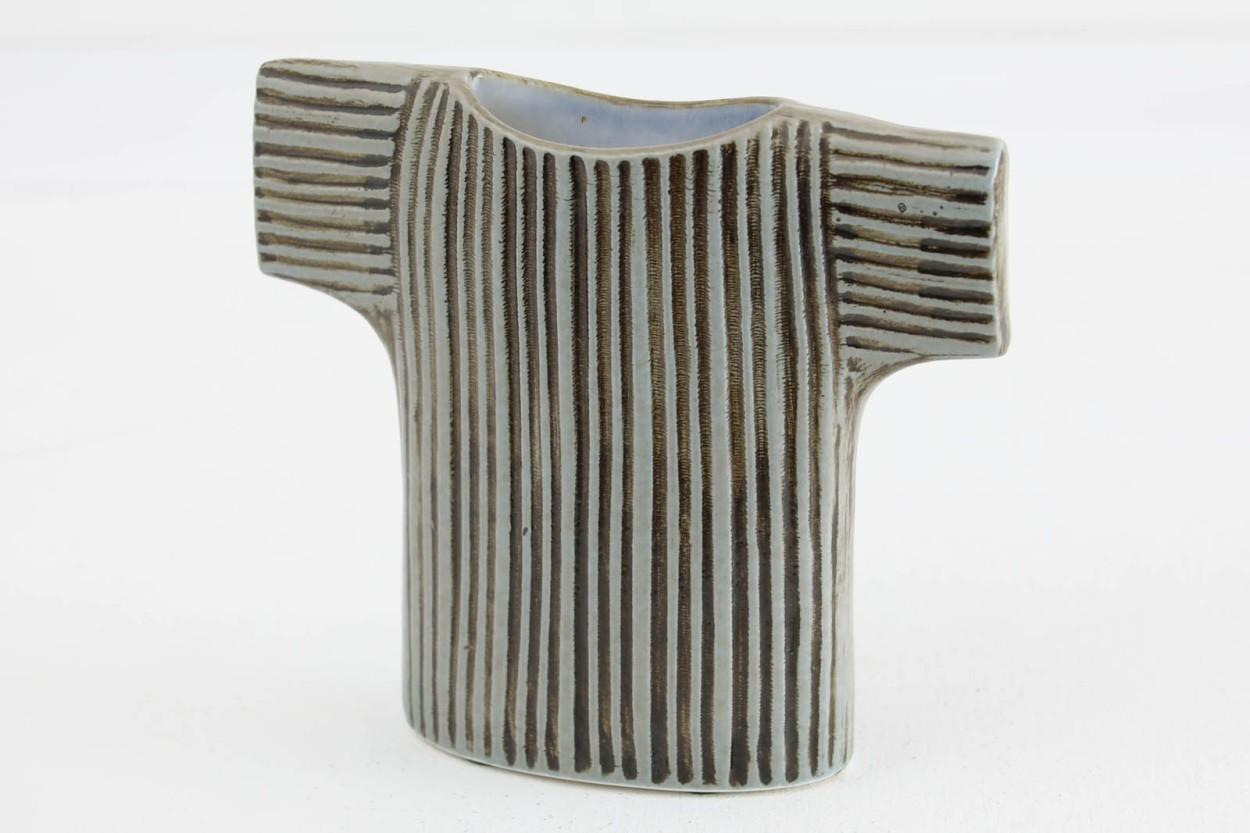 希少 Rorstrand製 Lisa Larson リサ ラーソン Vase Sweater セーター フラワーベース/TA10893