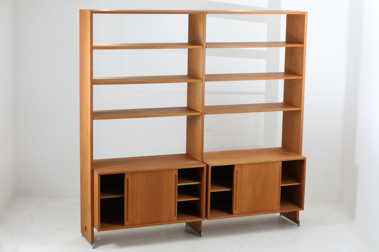 北欧家具ビンテージ システムシェルフ RY100 オーク材 Hans J.Wegner(ハンス・J・ウェグナー)/DK12177