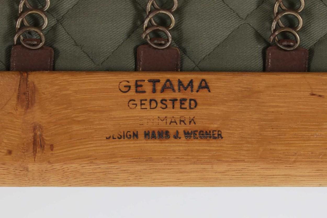 北欧家具ビンテージ GE290 トリプルソファ オーク材 Hans J.Wegner(ハンス・J・ウェグナー) GETAMA/ゲタマ/DK10912