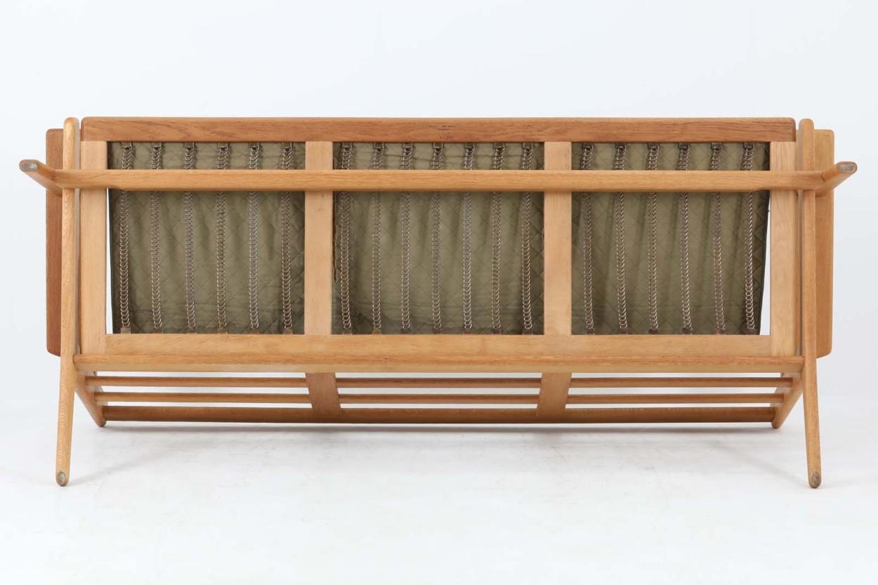 北欧家具ビンテージ GE290 トリプルソファ オーク材 Hans J.Wegner(ハンス・J・ウェグナー) GETAMA/ゲタマ/DK11401