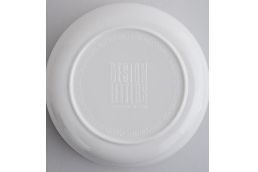 DESIGN LETTERS(デザインレターズ) Arne Jacobsen アルネ ヤコブセン メラミン製 パーソナルカップ(N〜Z)