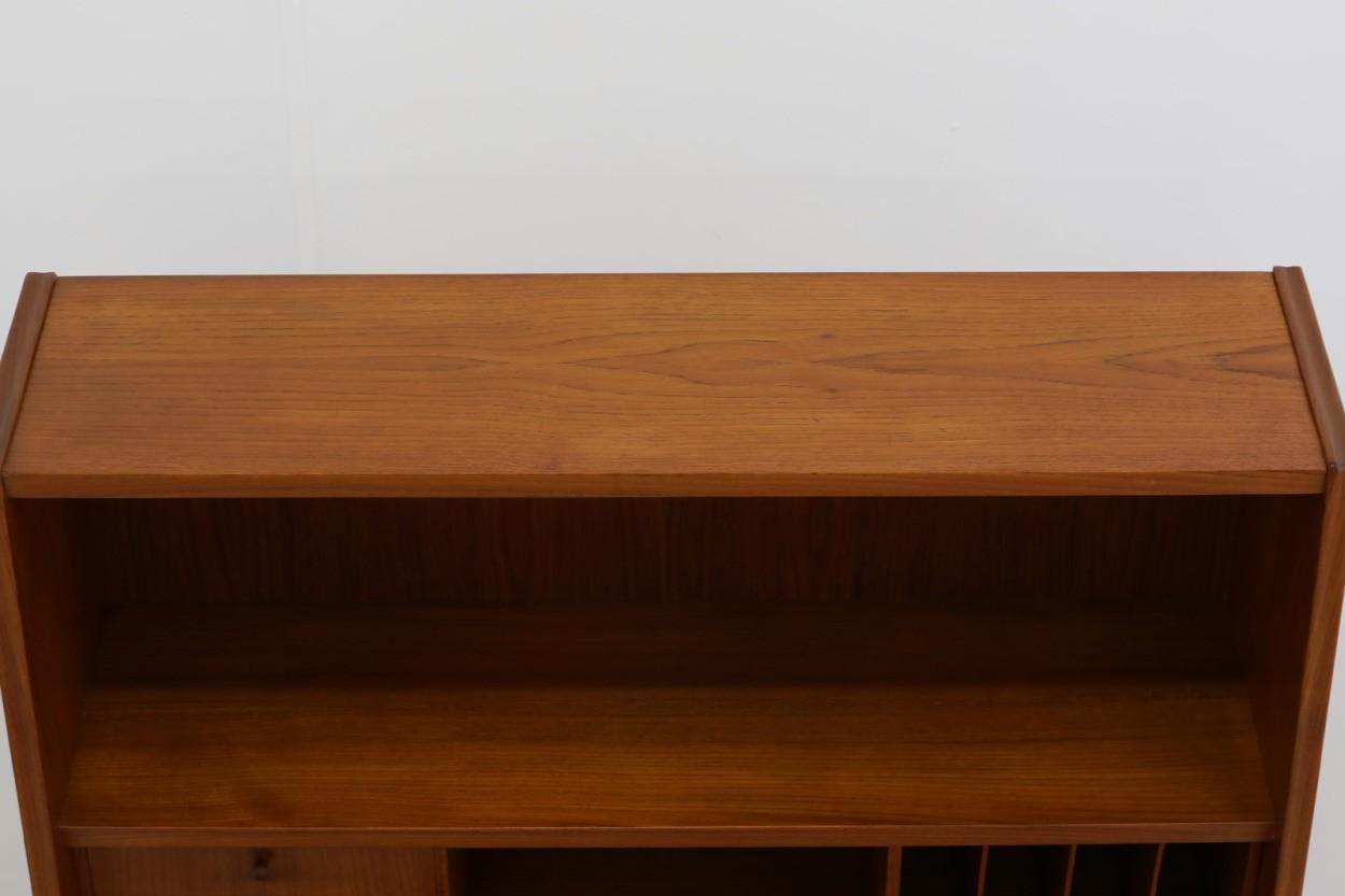 デンマーク製 高さが高めのライティングビューロ/デスク チーク材 北欧家具ビンテージ/DK10730