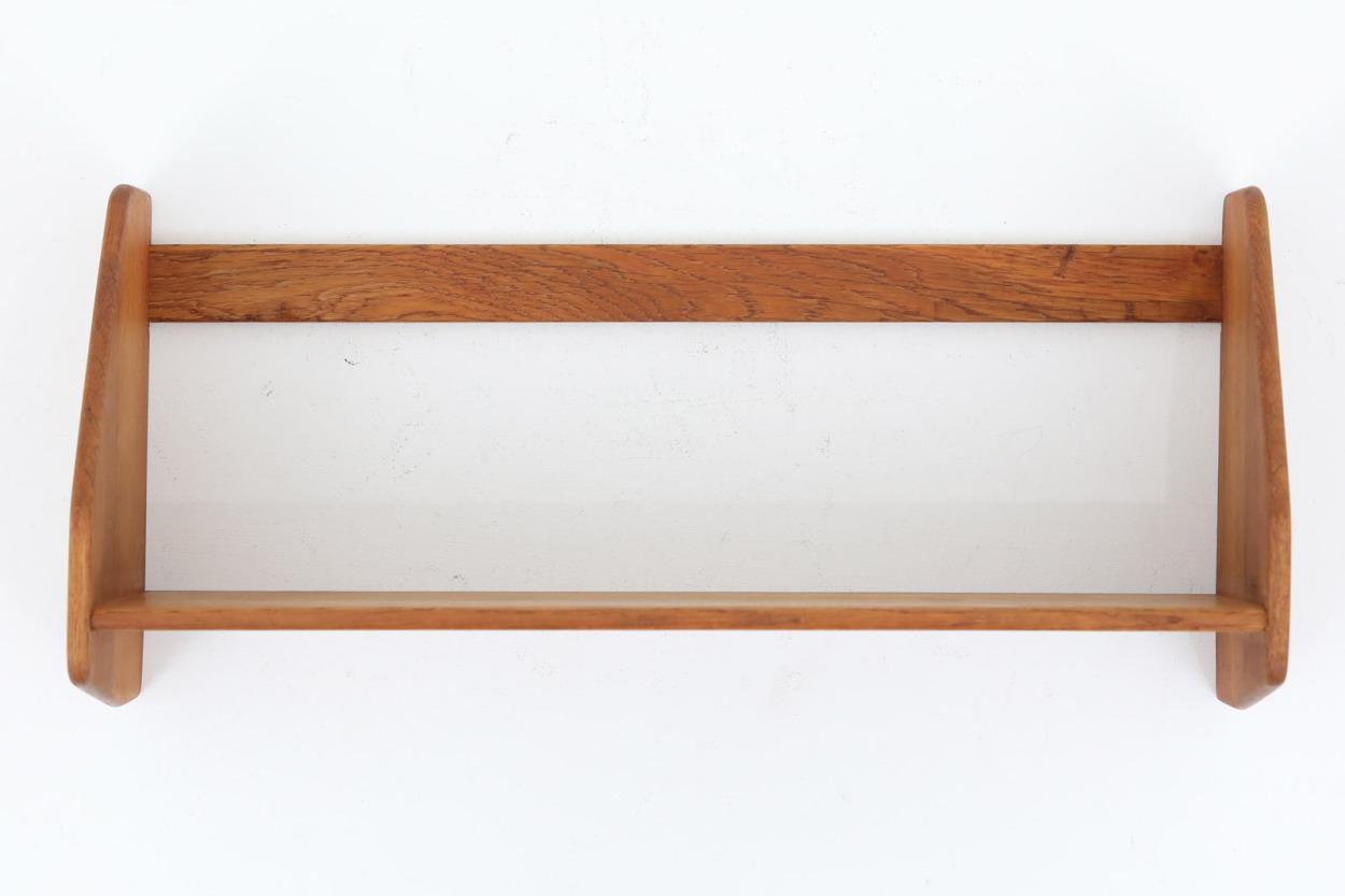 Hans J.Wegner(ハンス・J・ウェグナー)壁掛けシェルフ/ウォールシェルフ オーク材 RY Mobler 北欧家具ビンテージ/DK11803