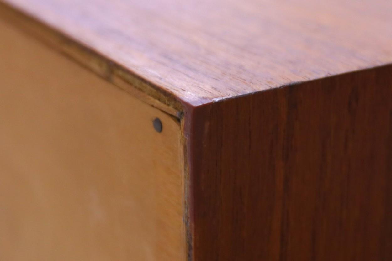 Kai Kristiansen(カイ・クリスチャンセン) チェスト チーク材 デンマーク製 北欧家具ビンテージ/DK11228