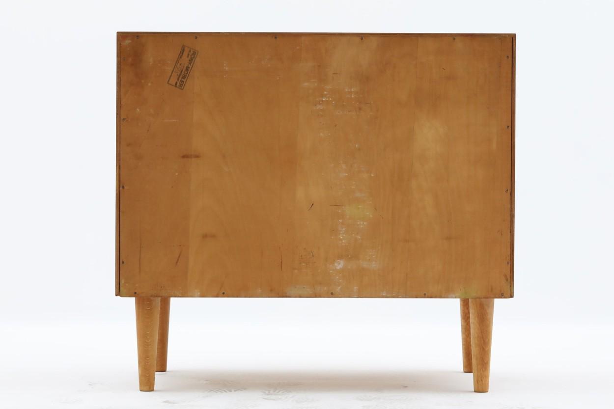 デンマーク製 チェスト3段 チーク×オーク材 北欧家具ビンテージ/DK11229
