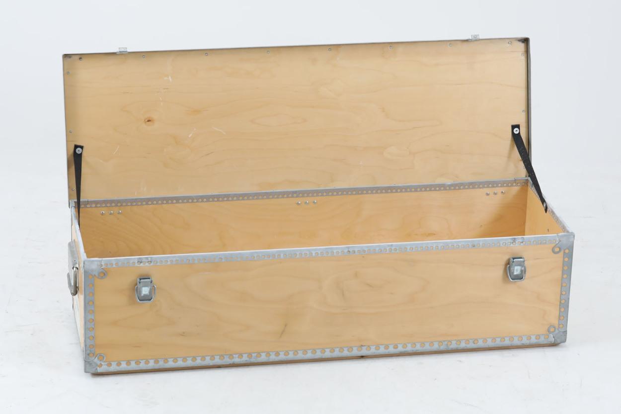 スウェーデン製 木製収納ボックス 北欧家具ビンテージ/DK11858
